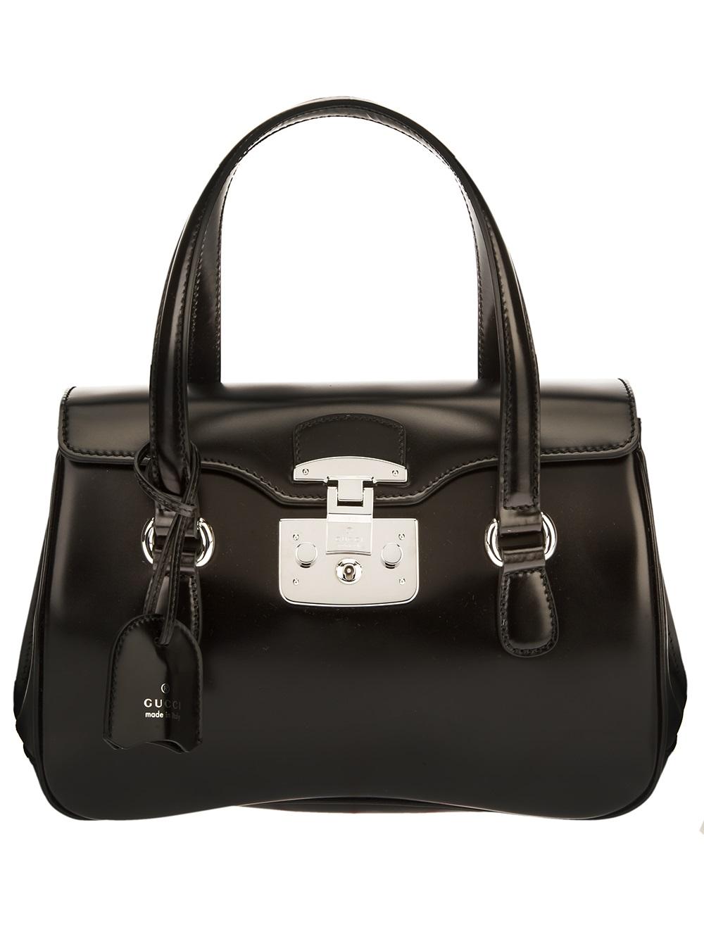 Lyst Gucci Lady Lock Handbag In Black