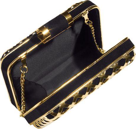 H&m Clutch Bag in Gold