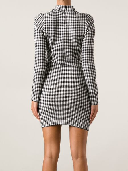 Chlo 235 Sevigny X Opening Ceremony Gingham Pattern Dress In