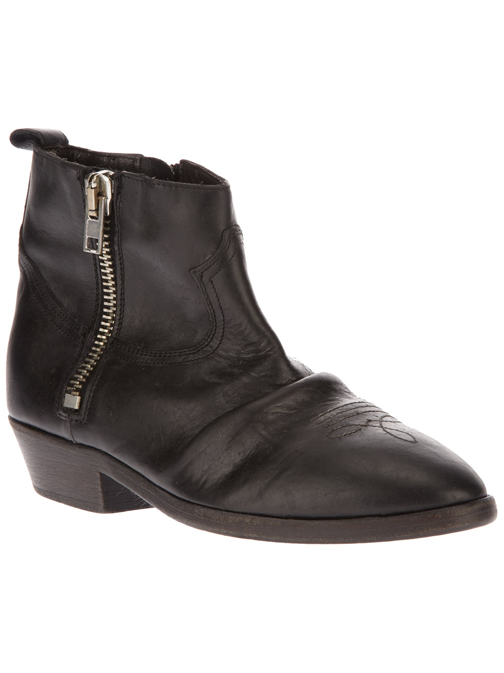 Golden Goose Deluxe Brand Viand Ankle Boot In Black Lyst