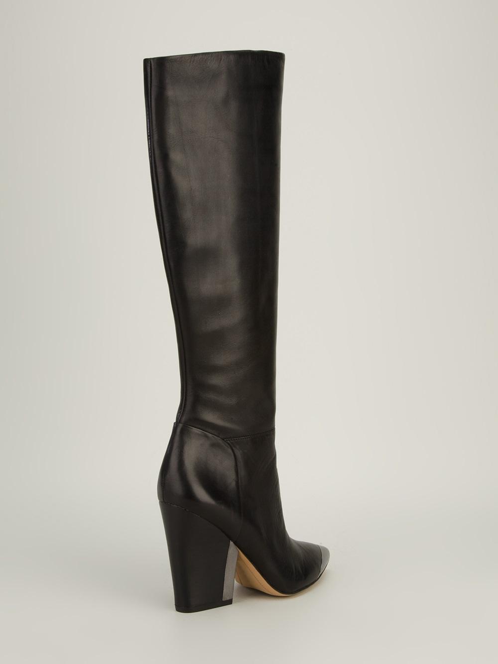 Lyst Sam Edelman Maureen Knee High Boot In Black