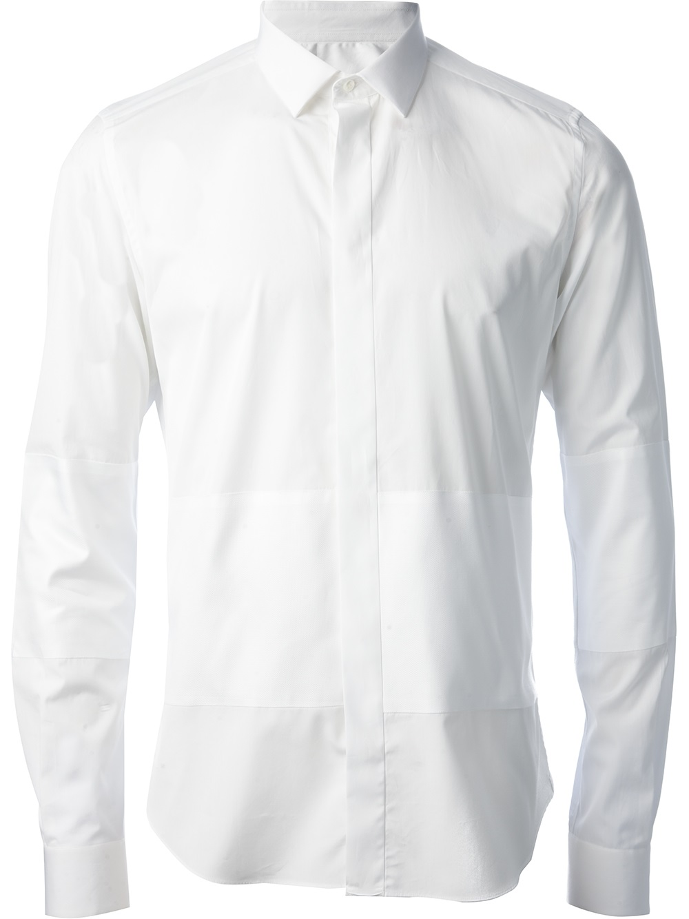 Lyst Valentino Collared Shirt In White For Men