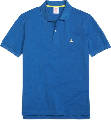 Brooks Brothers Golden Fleece Original Fit Performance Polo in Blue    Brooks Brothers Polo