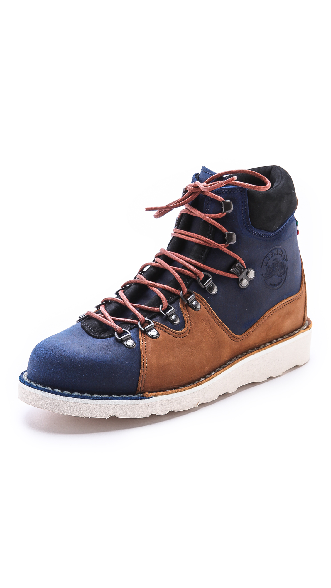diemme roccia due hiking boots in brown for gulf lyst