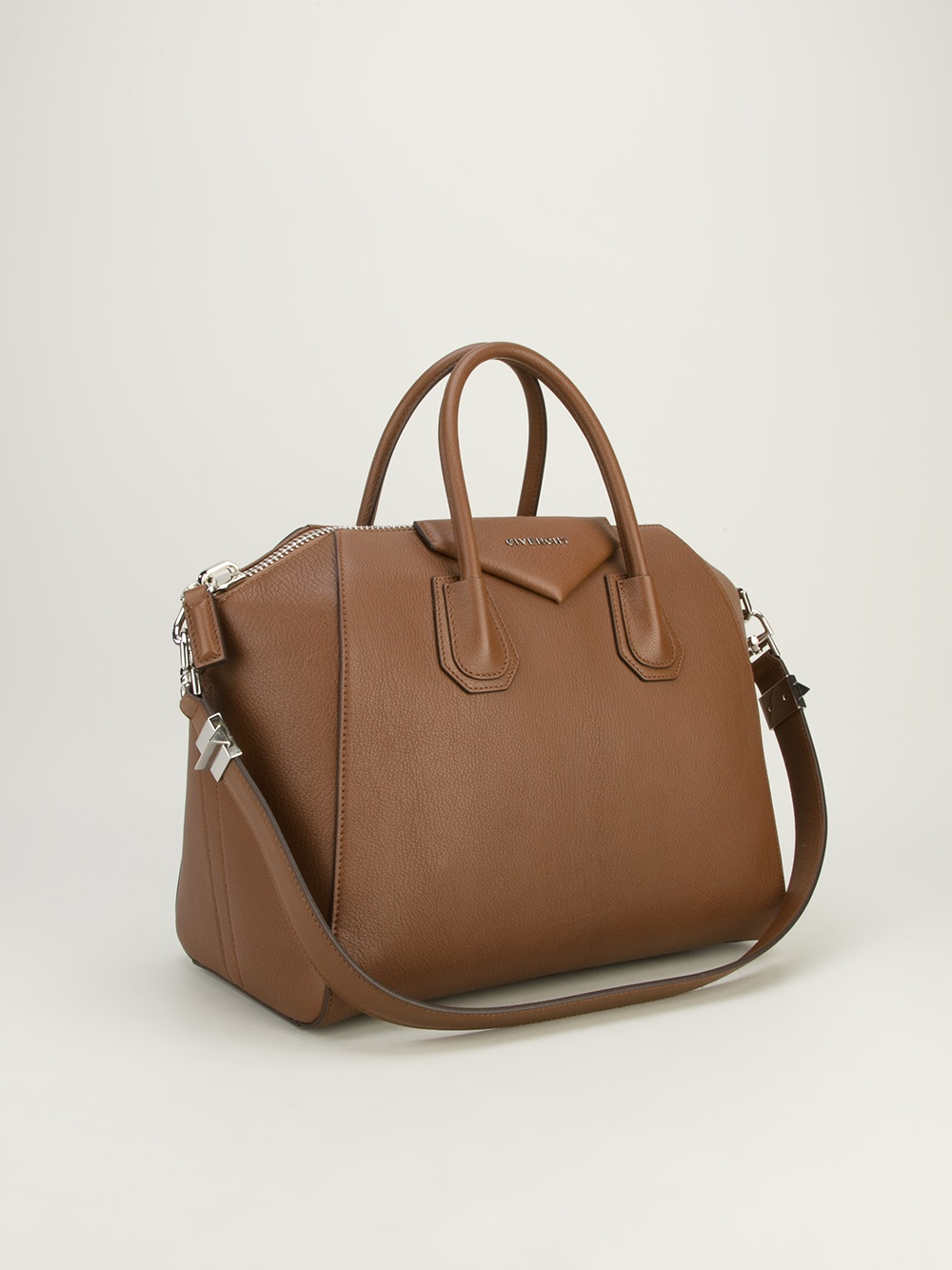 Givenchy Antigona Tote Bag In Brown Lyst