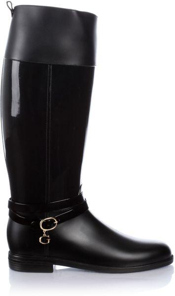 Guess Luna Rain Boots In Black Lyst