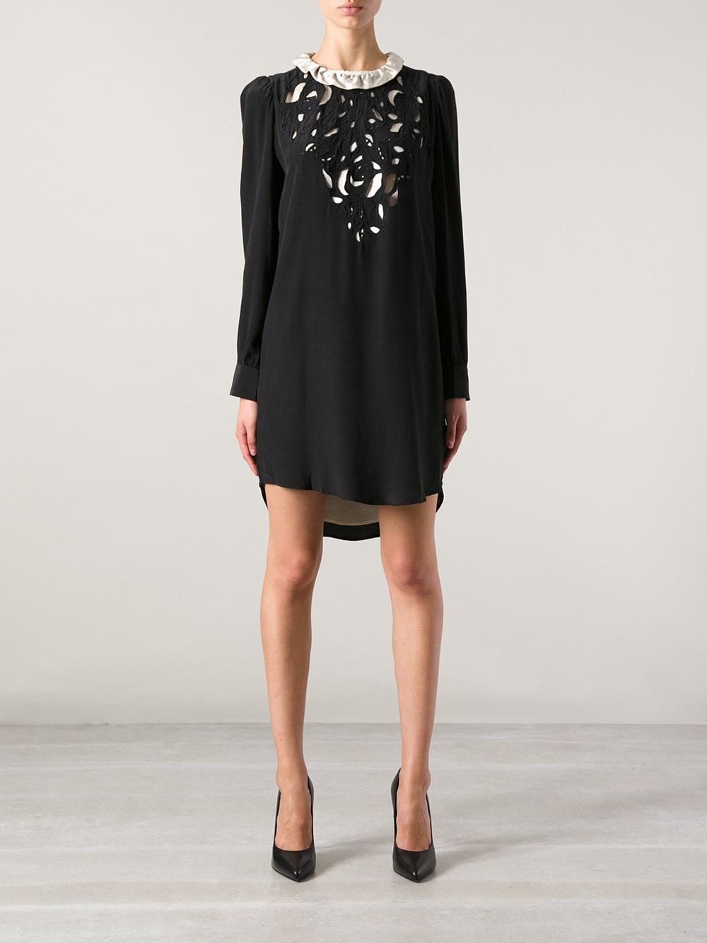 Isabel Marant Qiana Dress In Black Lyst