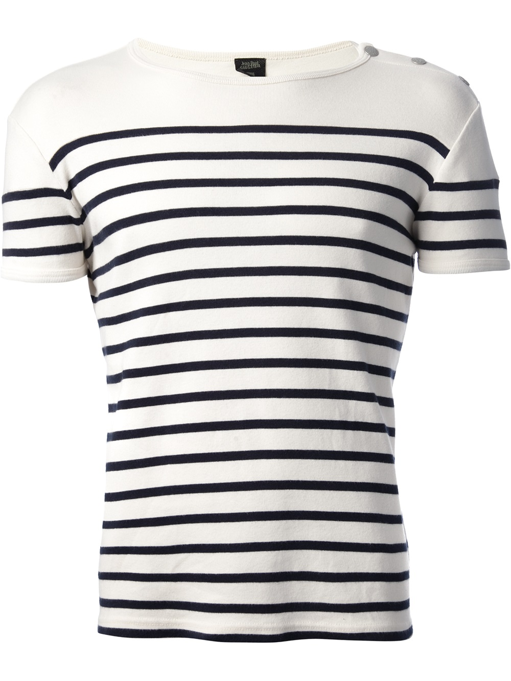 Blue And White Striped T Shirt Men