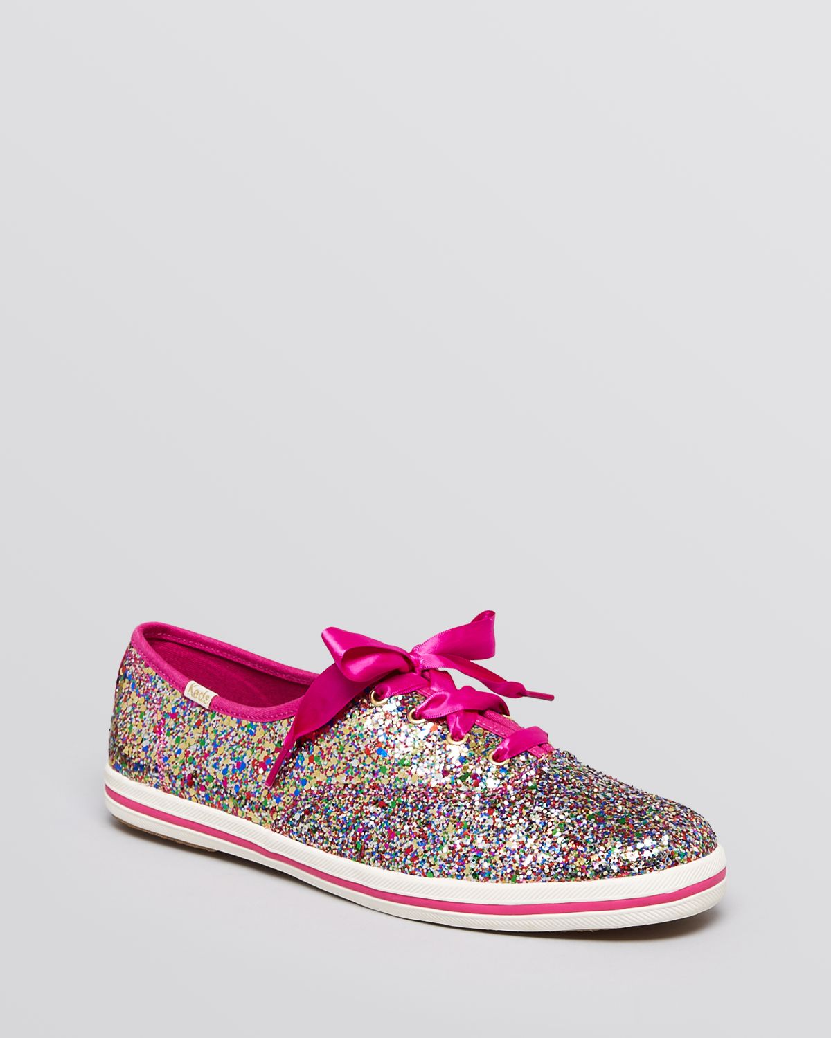 sparkle keds womens leather sneakers
