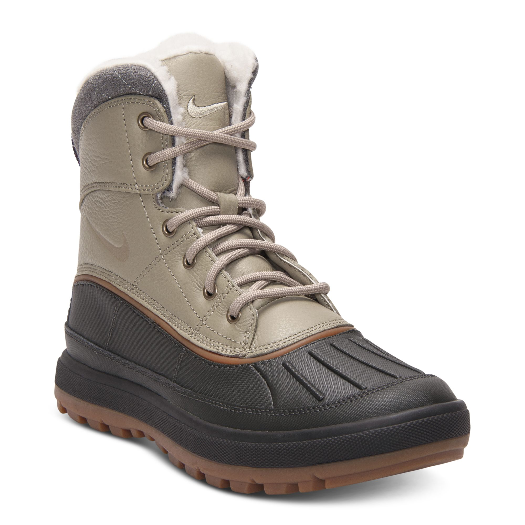 hot sales b81e0 c0d90 Nike Woodside Ii Outdoor Boots in Black for Men - Lyst