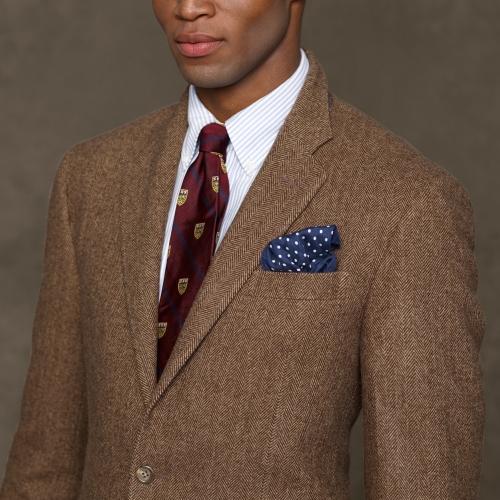 Lyst Polo Ralph Lauren Herringbone Sport Coat In Brown