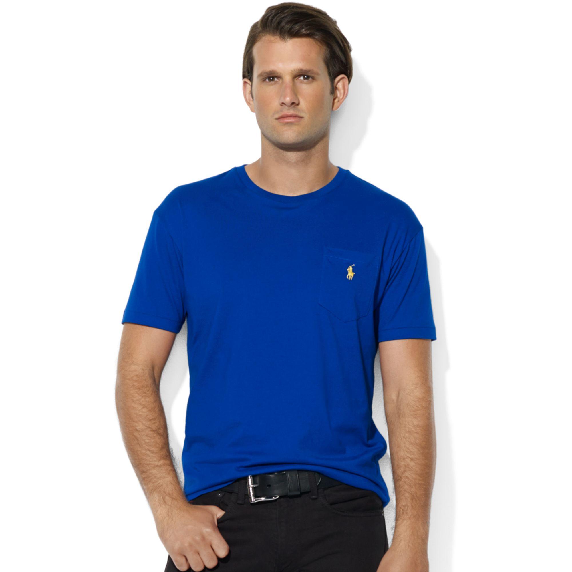 polo ralph lauren classic fit pocket t shirt