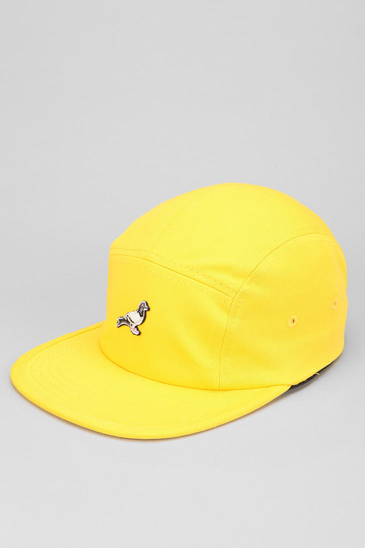 Lyst - Urban Outfitters 5panel Hat in Yellow for Men 9e65d1a3936