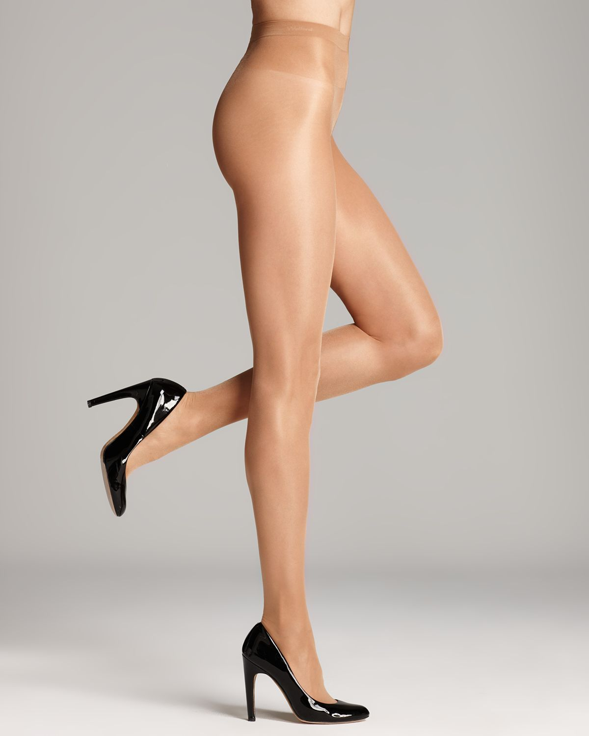 ac4c5e109df77 Wolford Sheer Tights - Satin Touch 20 #018378 in Natural - Lyst