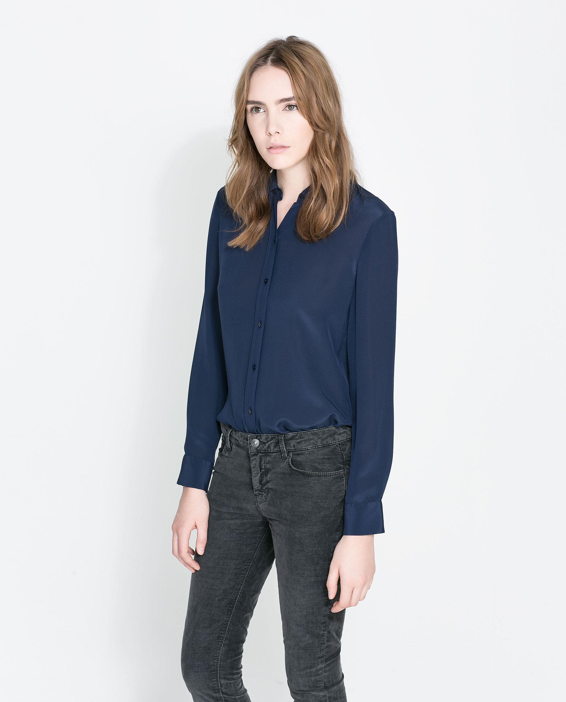 Zara Silk Blouse 67