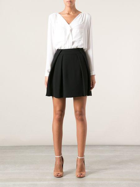 Women's Pleated Mini Skirt - Six Plaid Patterns