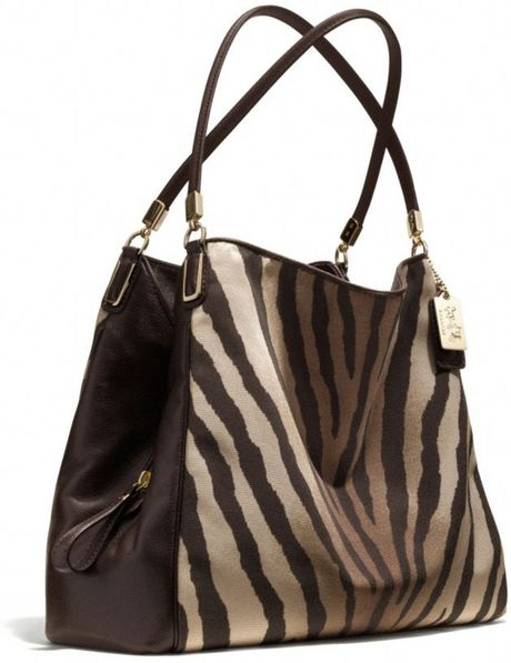Zebra Print Shoulder Bags 14