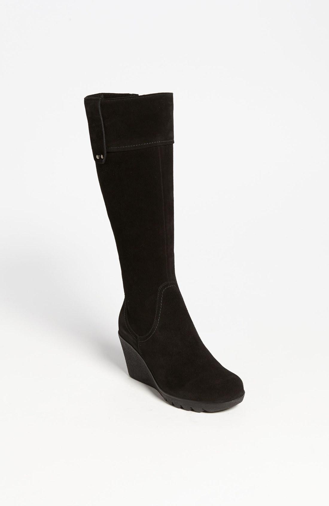 la canadienne berkley waterproof boot in black black