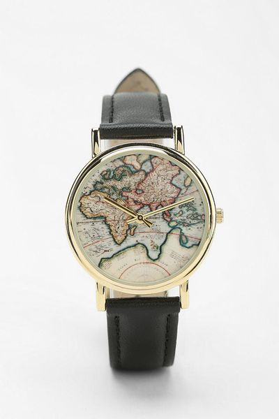Urban Outfitters World Map Watch.Watches Watches Urban Outfitters