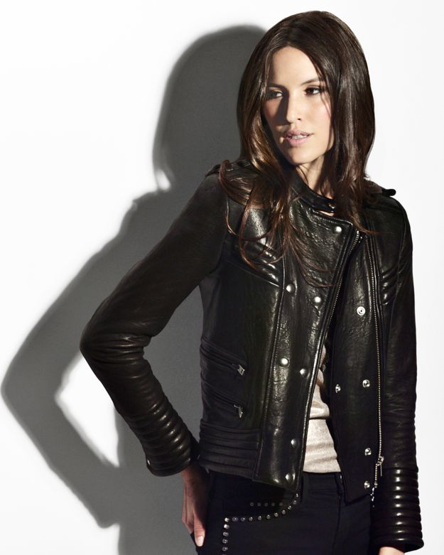 Iro Quilted Leather Jacket in Black | Lyst