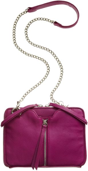 Kelsi Dagger Chelsea Crossbody in Purple (Fuschia)