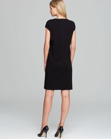 max mara studio lisetta knit dress with embellished collar. Black Bedroom Furniture Sets. Home Design Ideas