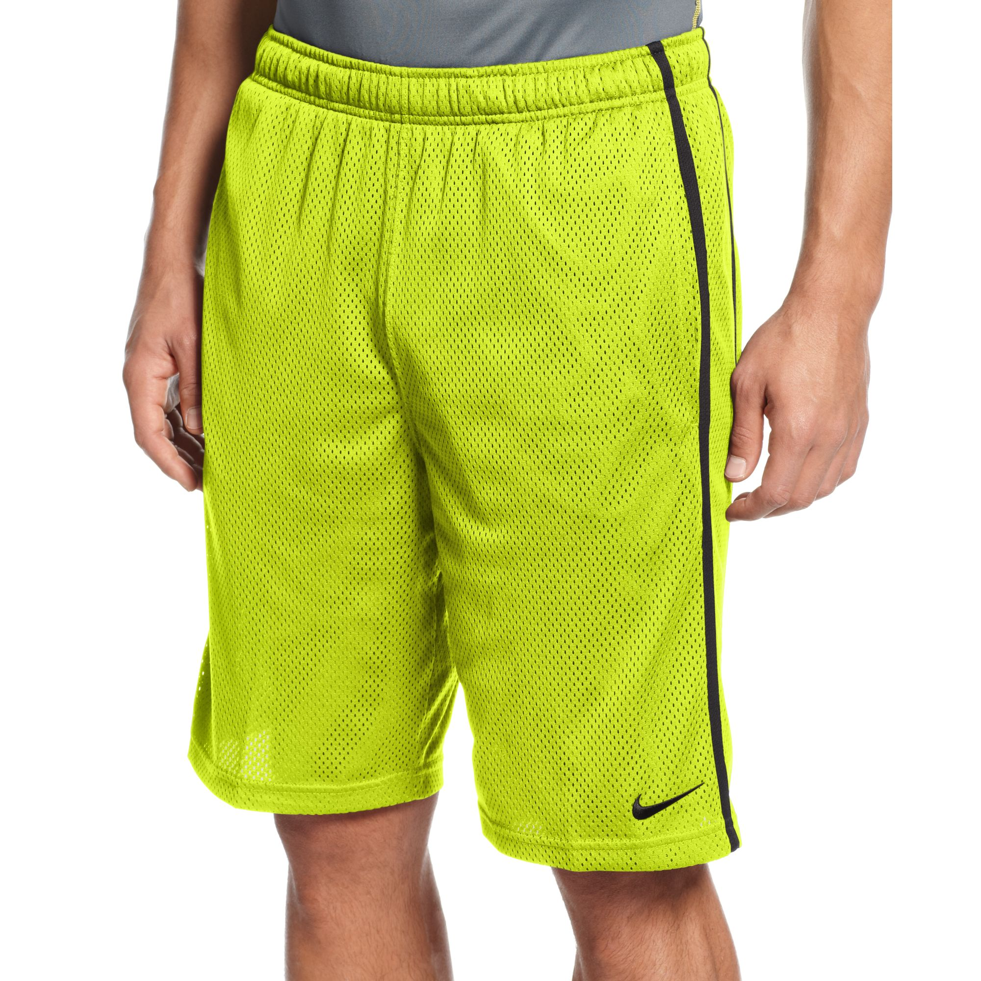 Lyst Nike Drifit Monster Mesh Basketball Shorts In Green