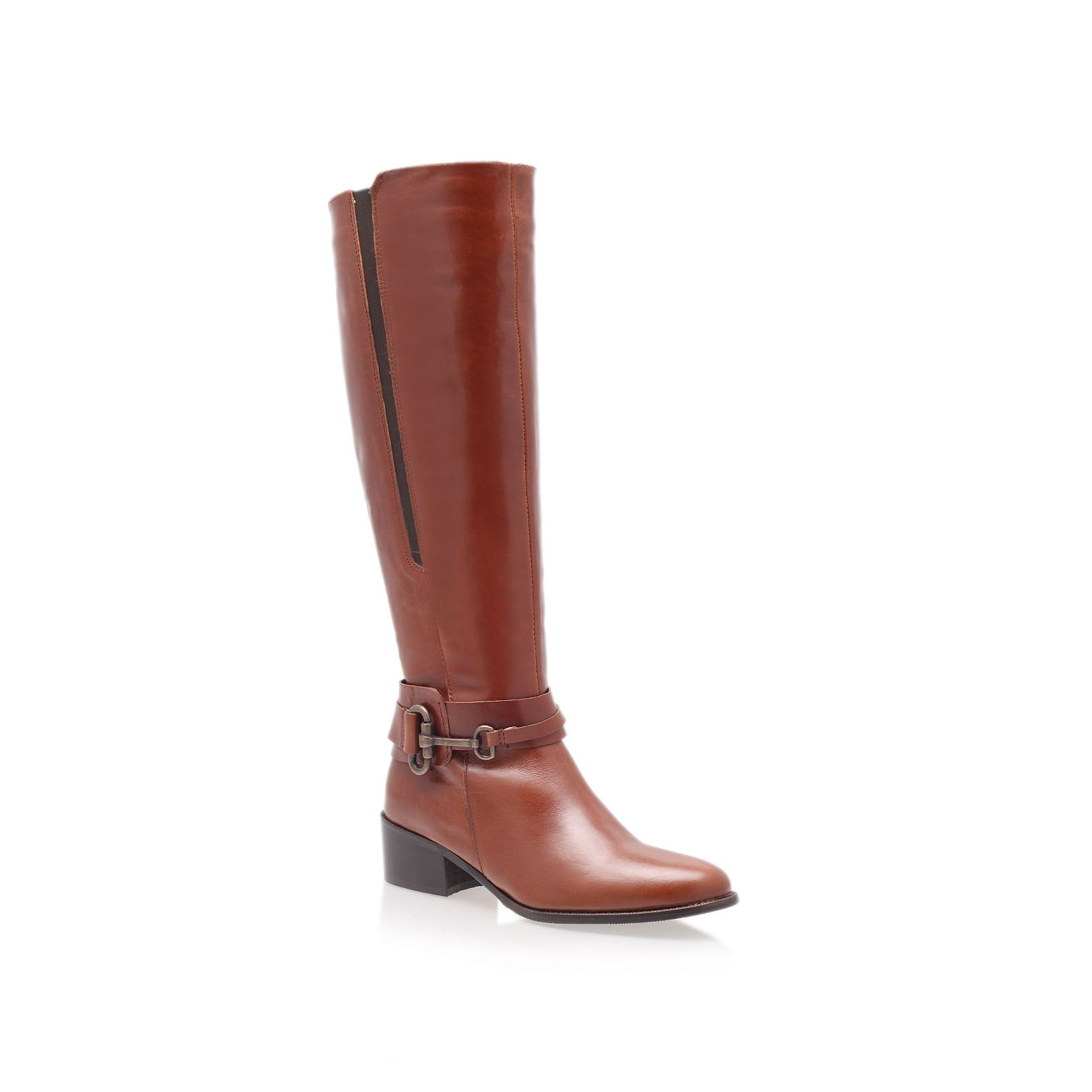 Carvela Kurt Geiger Willing Riding Boots In Brown | Lyst