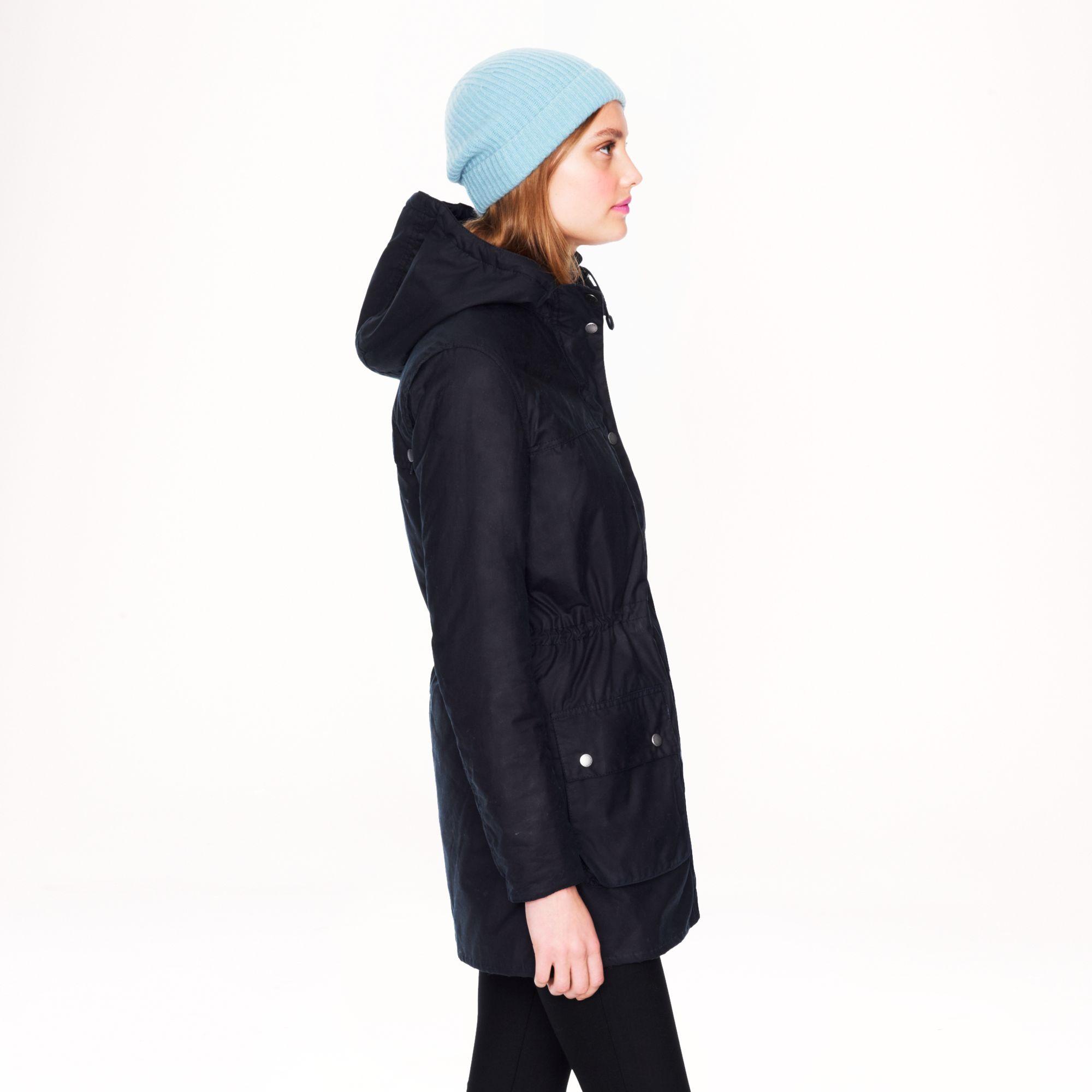 Lyst - J.Crew Barbour Winter Durham Jacket in Blue 2ed027bbf