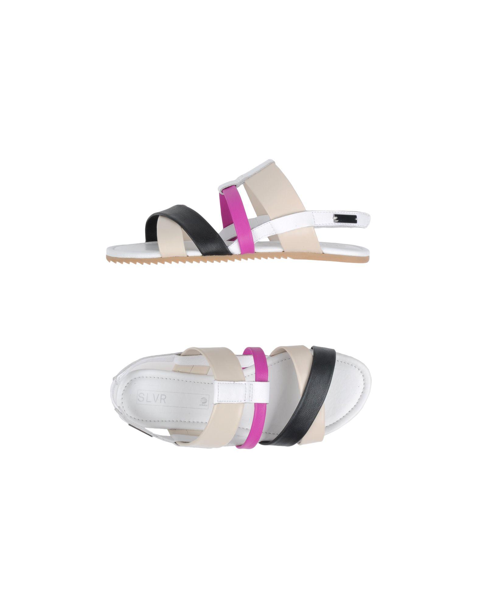 f207366e8 Lyst - Adidas SLVR Sandals in White