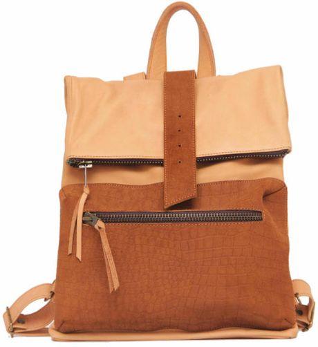 Sabrina Tach Viper Backpack in Brown for Men