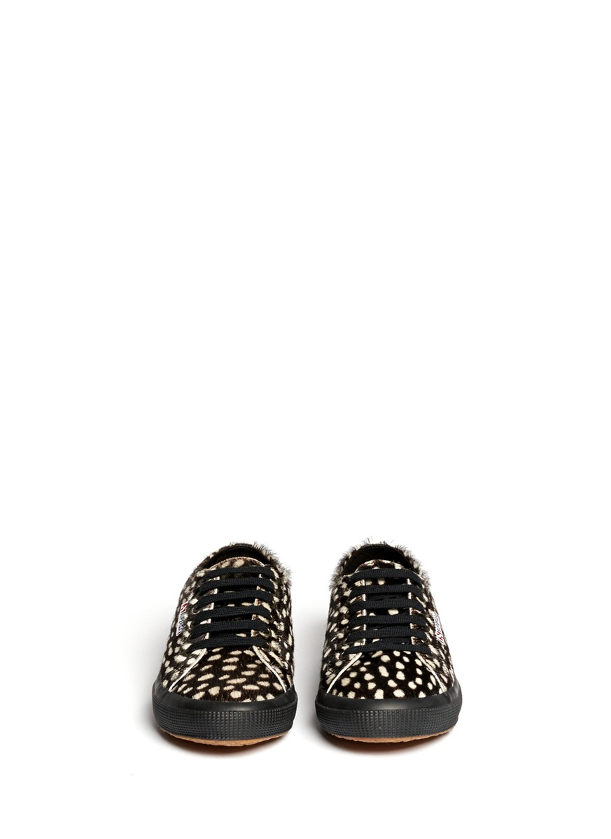 H M Animal Skin Lace Up Shoes