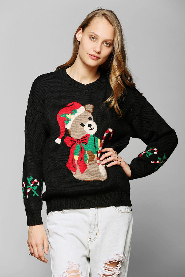 Urban Outfitters Ugly Christmas Sweater.Urban Renewal Vintage Ugly Holiday Sweater Lyst
