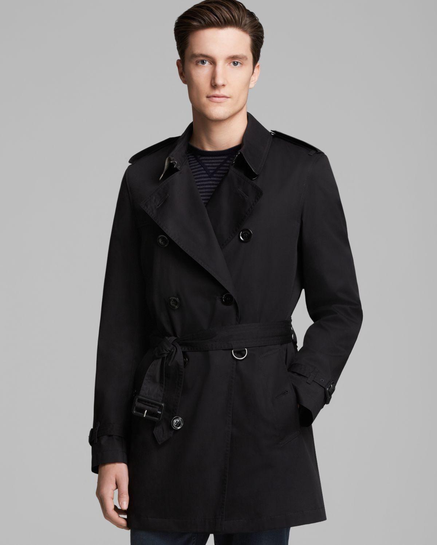 burberry brit britton doublebreasted trench coat for men. Black Bedroom Furniture Sets. Home Design Ideas