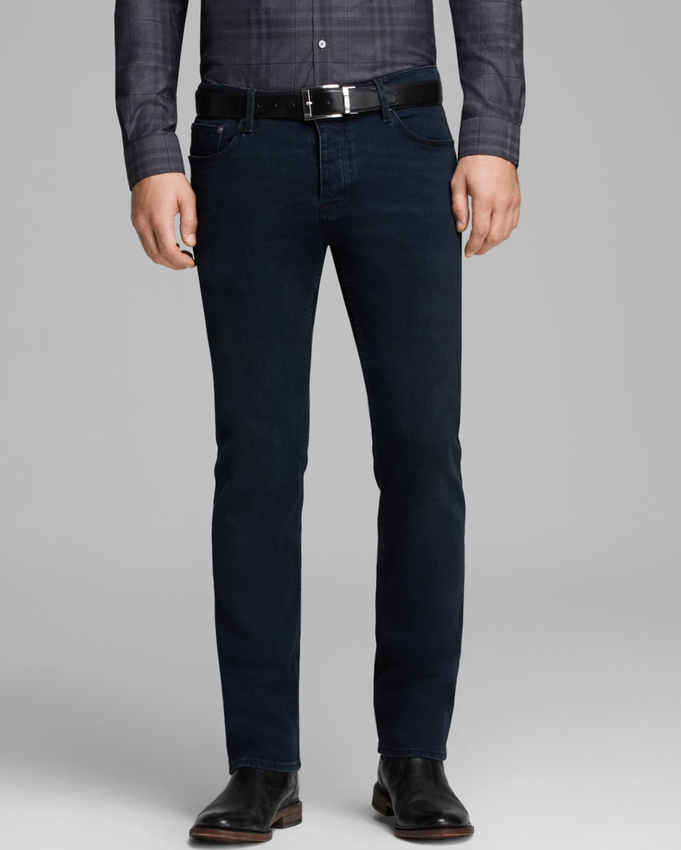 Straight Fit Stretch-denim Jeans - Black Burberry KzCjKvEj