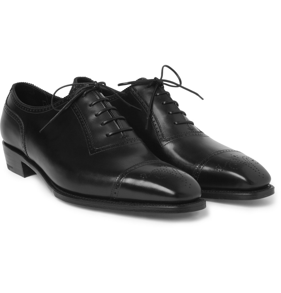 Lyst George Cleverley Anthony Cameron Leather Brogues In