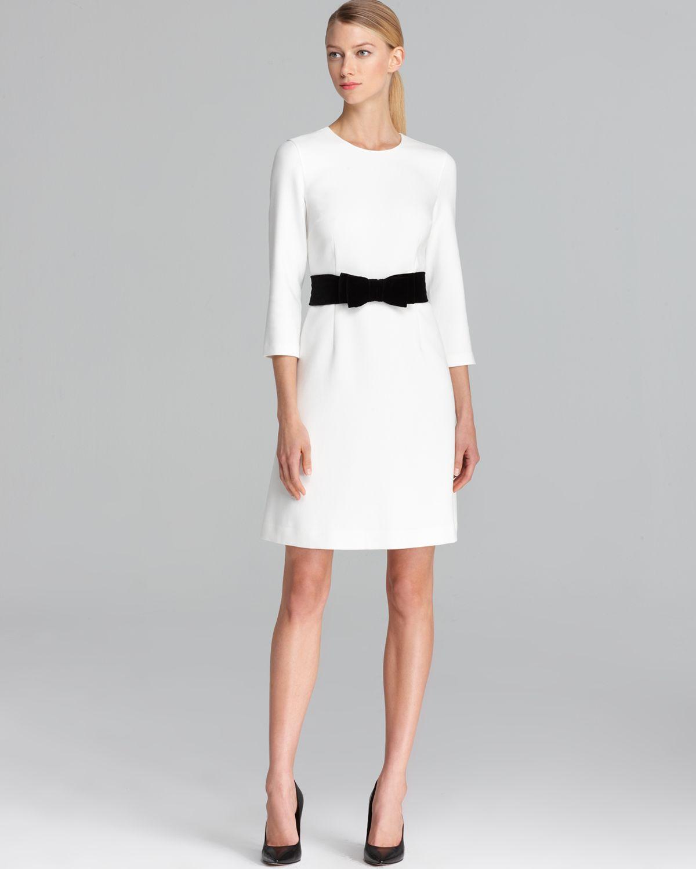 Kate Spade Keegan Dress In White Cream Lyst