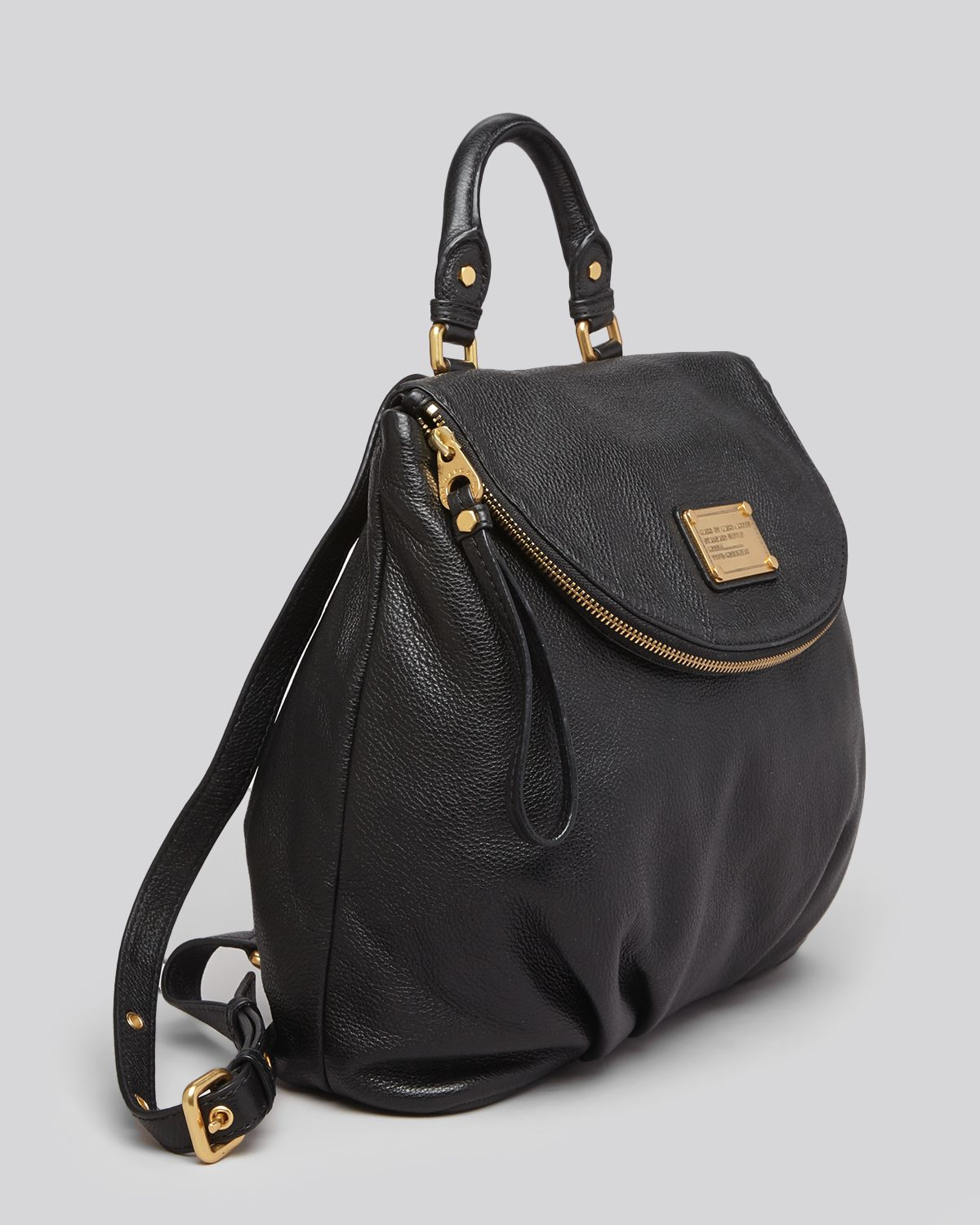 marc by marc jacobs backpack classic q mariska in black. Black Bedroom Furniture Sets. Home Design Ideas