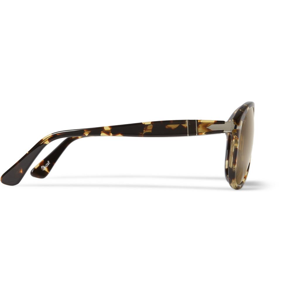 d10e8eae1c Lyst - Persol 649 54 Tabacco Virginia Polarised Acetate Sunglasses ...
