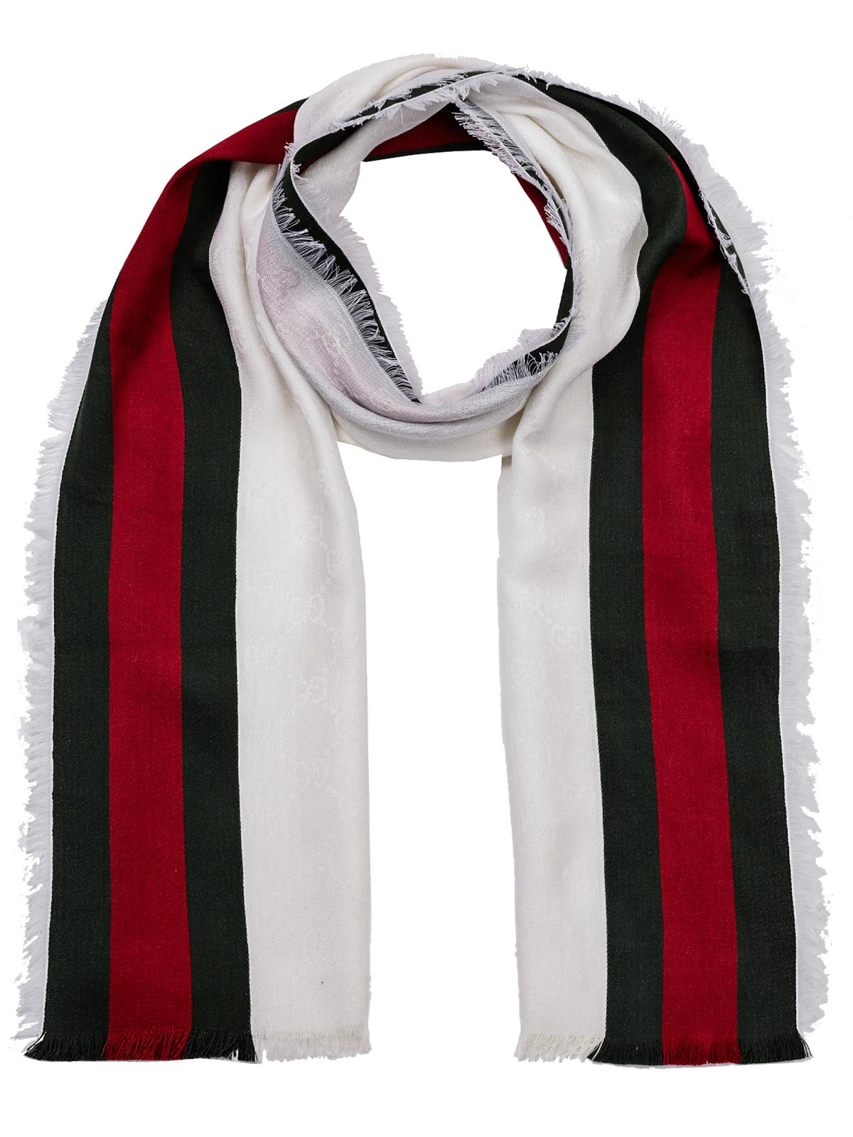gucci scarf in beige lyst