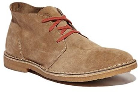 Lucky Brand Boots Seavees 3 Eye Chukka In Beige For Men