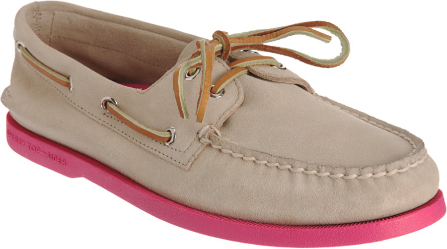 Lyst - Sperry Top-Sider Classic Boat Shoe in Natural for Men 04f3e3b383be