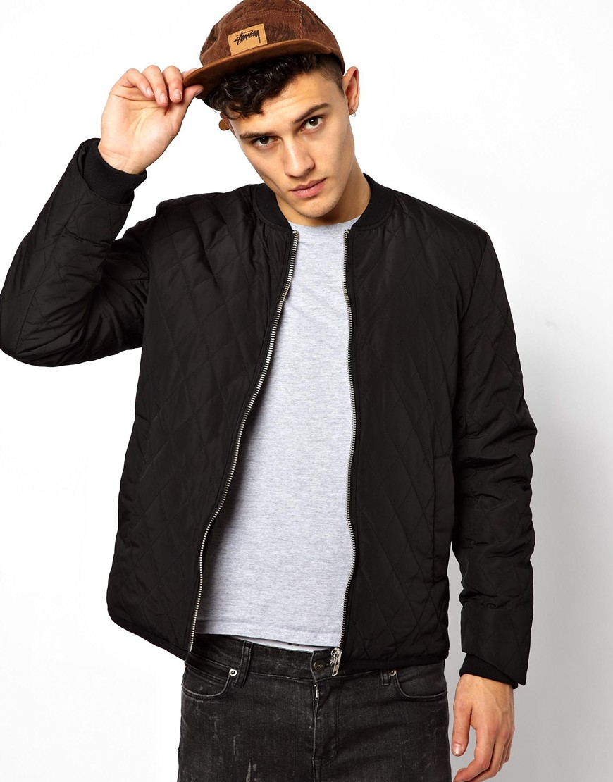 Bomber Jacket Men Black - JacketIn