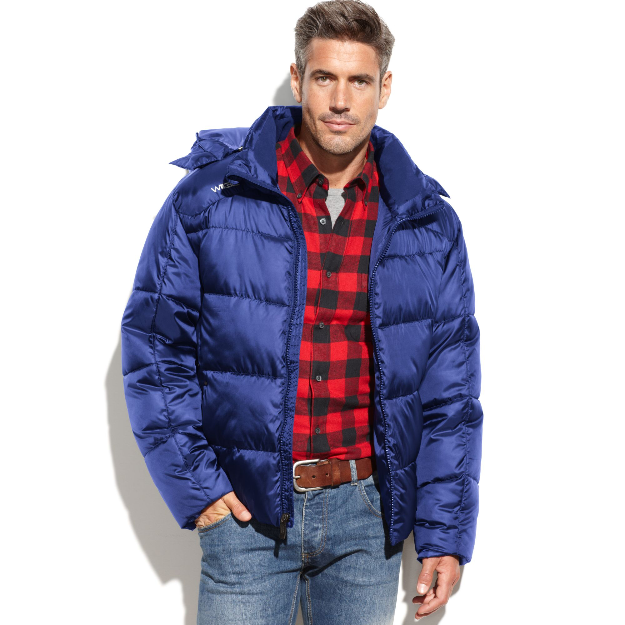 Weatherproof 32 Degrees Coat Micro Tech Quilted Puffer