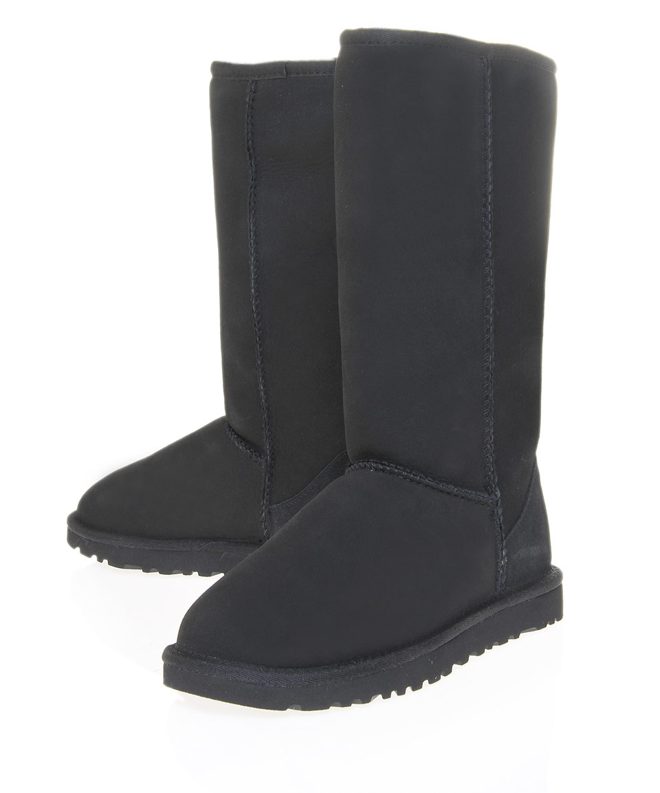 ugg boots classic tall black