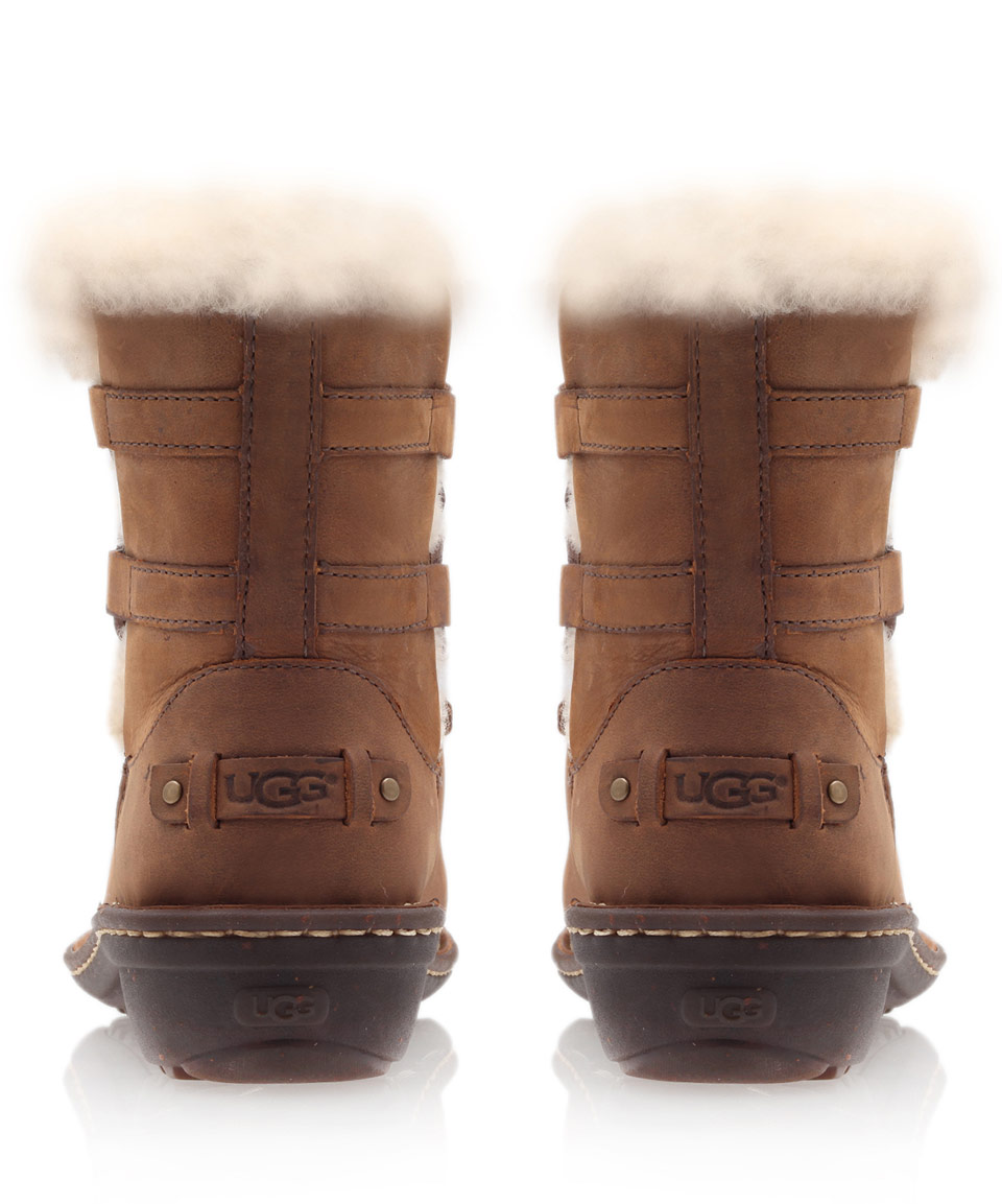 0b11e99a70b Ugg Leather Boots Brown - cheap watches mgc-gas.com