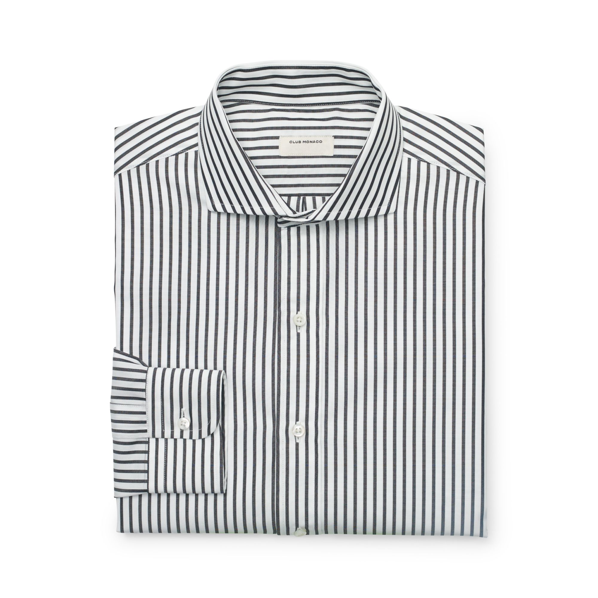Lyst Club Monaco Made In The Usa Dress Shirt In Black For Men