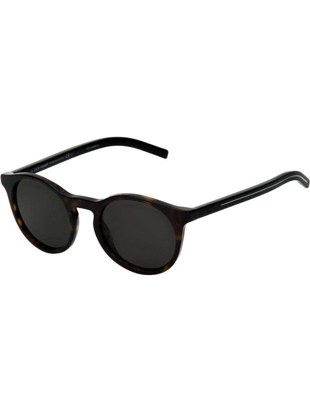 Dior Men Sunglasses – Black Golden Frame – HX-16863 - MS5