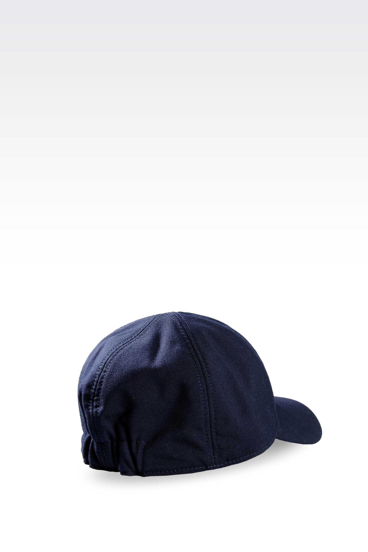 529549e62d720 Lyst - Emporio Armani Viscose Baseball Cap with Embroidered Logo in ...