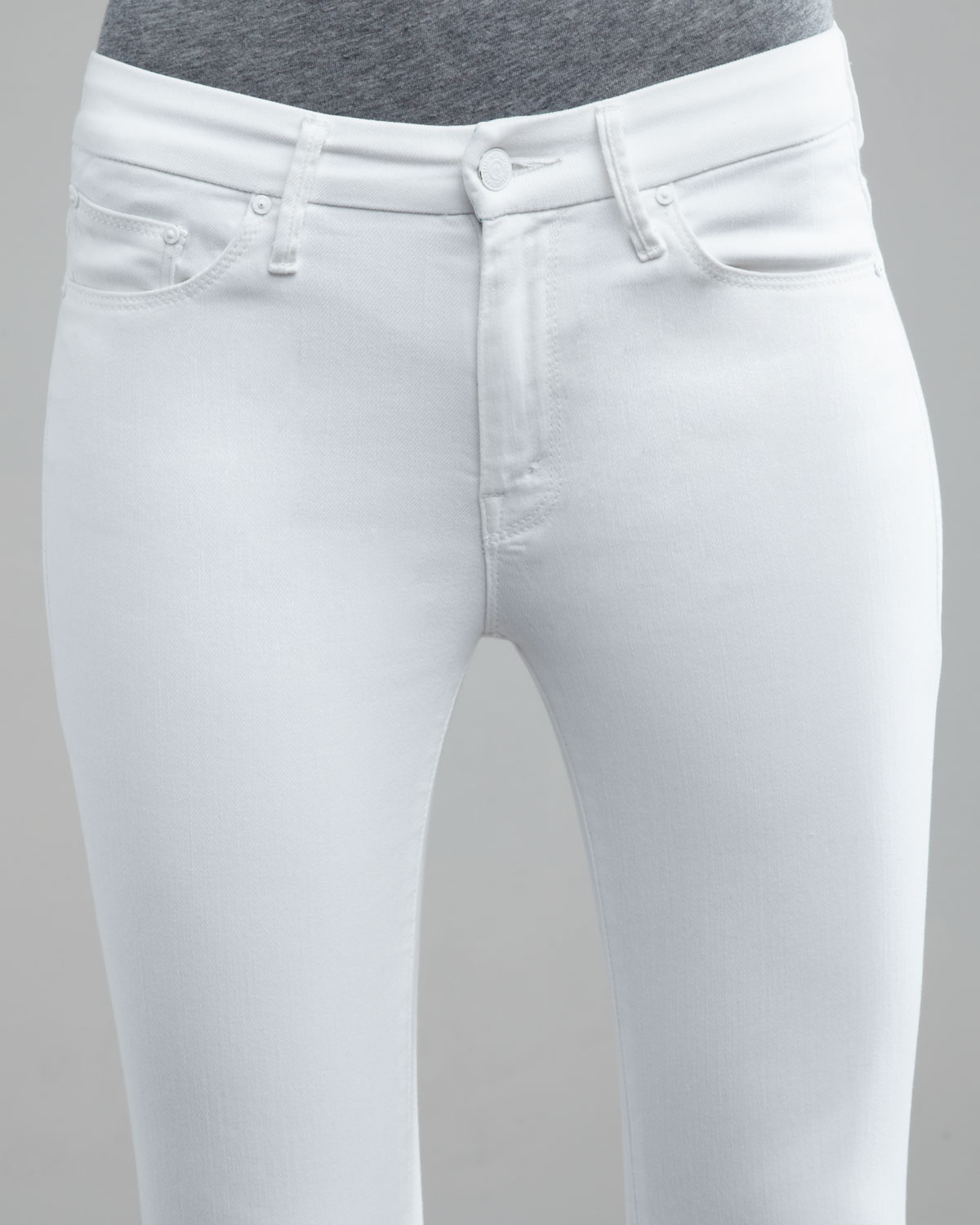 distressed cropped jeans - White Mother Shopping Online Cheap Price n2n8y
